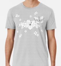 Just Add Colour - Tropical Butterfly Premium T-Shirt