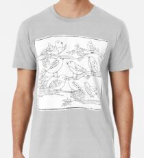Just Add Colour - Birds of a Feather Premium T-Shirt