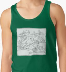 Just Add Colour - Birds of a Feather Tank Top