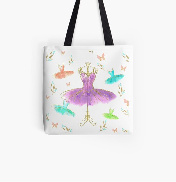 Dancing Queen All Over Print Tote Bag