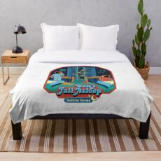 Don't Fall Asleep Throw Blanket