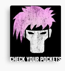 Gambit - Channing Tatum T Shirt - Comic Con 2015 Canvas Print