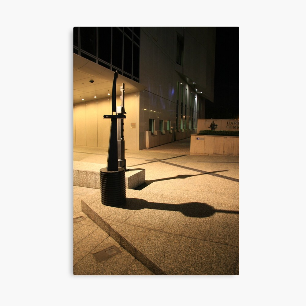 Architecture by Night. Canvas Print