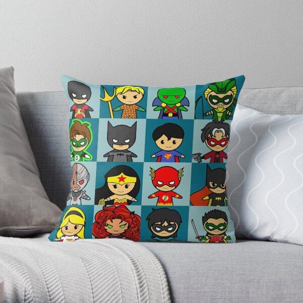 hero cube 2 Throw Pillow