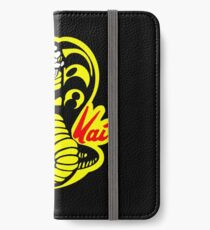 das Karate Kid Cobra Kai Logo iPhone Flip-Case/Hülle/Klebefolie