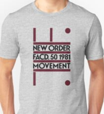 New Order - Movement. Factory 1981 T-Shirt