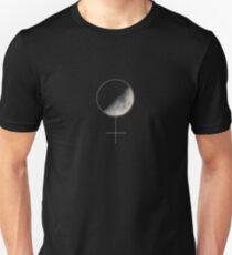 Moon and Woman symbol T-Shirt