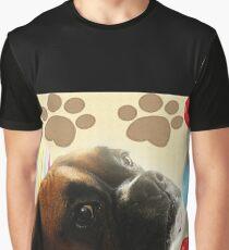 Schauen Sie, wer 1 - Boxer Dog Series ist Grafik T-Shirt