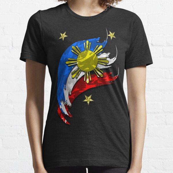 Philippinische Flagge Essential T-Shirt