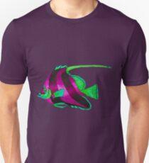 odd purple fish painting T-Shirt