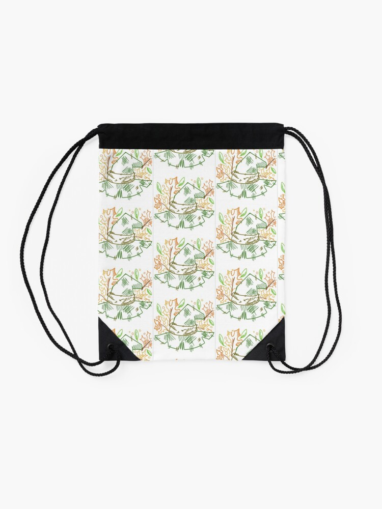 Alternate view of Nature! Witchy! Snufkin??  Drawstring Bag