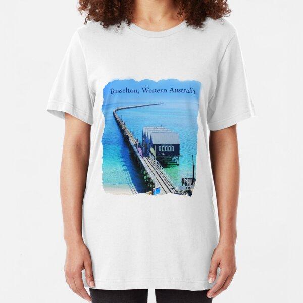 Busselton, Western Australia Slim Fit T-Shirt