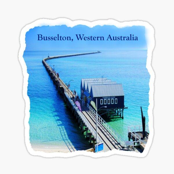 Busselton, Western Australia Sticker