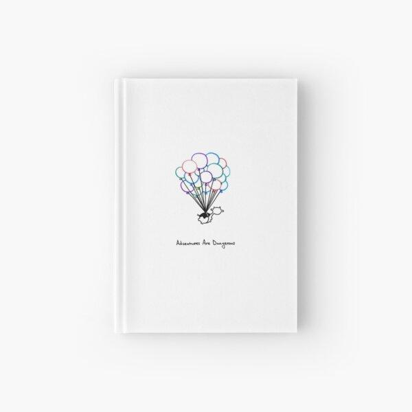 Birthday Balloon Cow Hardcover Journal