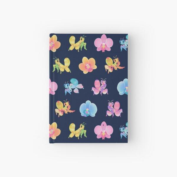 Orchid mantis - dark Hardcover Journal