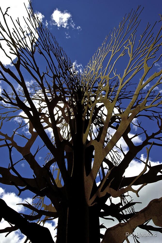 Rusty Tree by Rob Hawkins