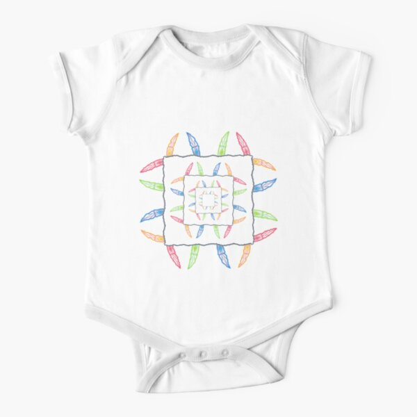Merch #38 -- Lightcickles Short Sleeve Baby One-Piece