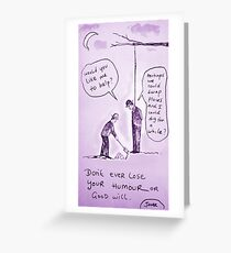 goodwill  Greeting Card