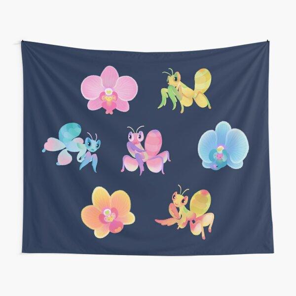 Orchid mantis - dark Tapestry