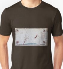Tomb of the Diver, Paestum Unisex T-Shirt