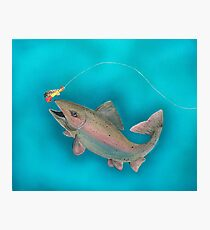 Rainbow Trout Photographic Print
