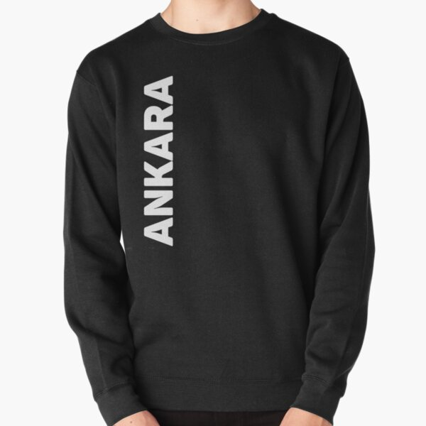 Ankara Pullover Sweatshirt