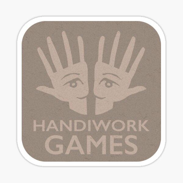 Handiwork Logo - Carboard Sticker