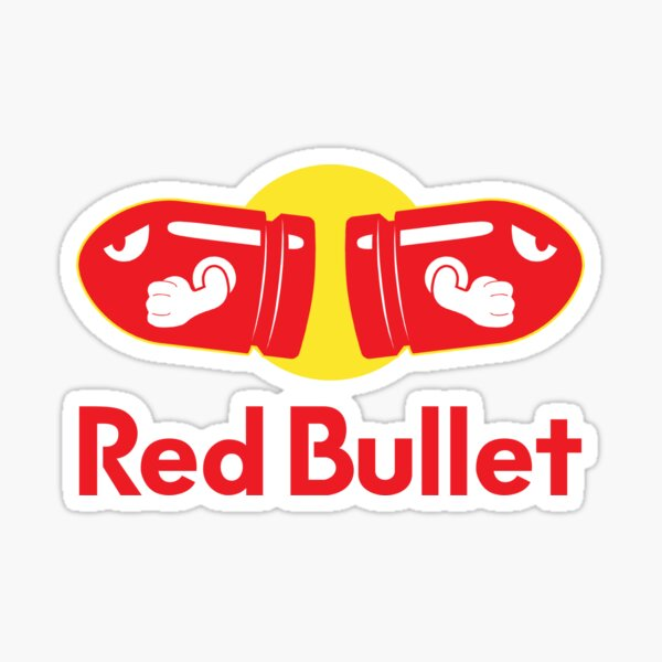 Red Bullet Sticker