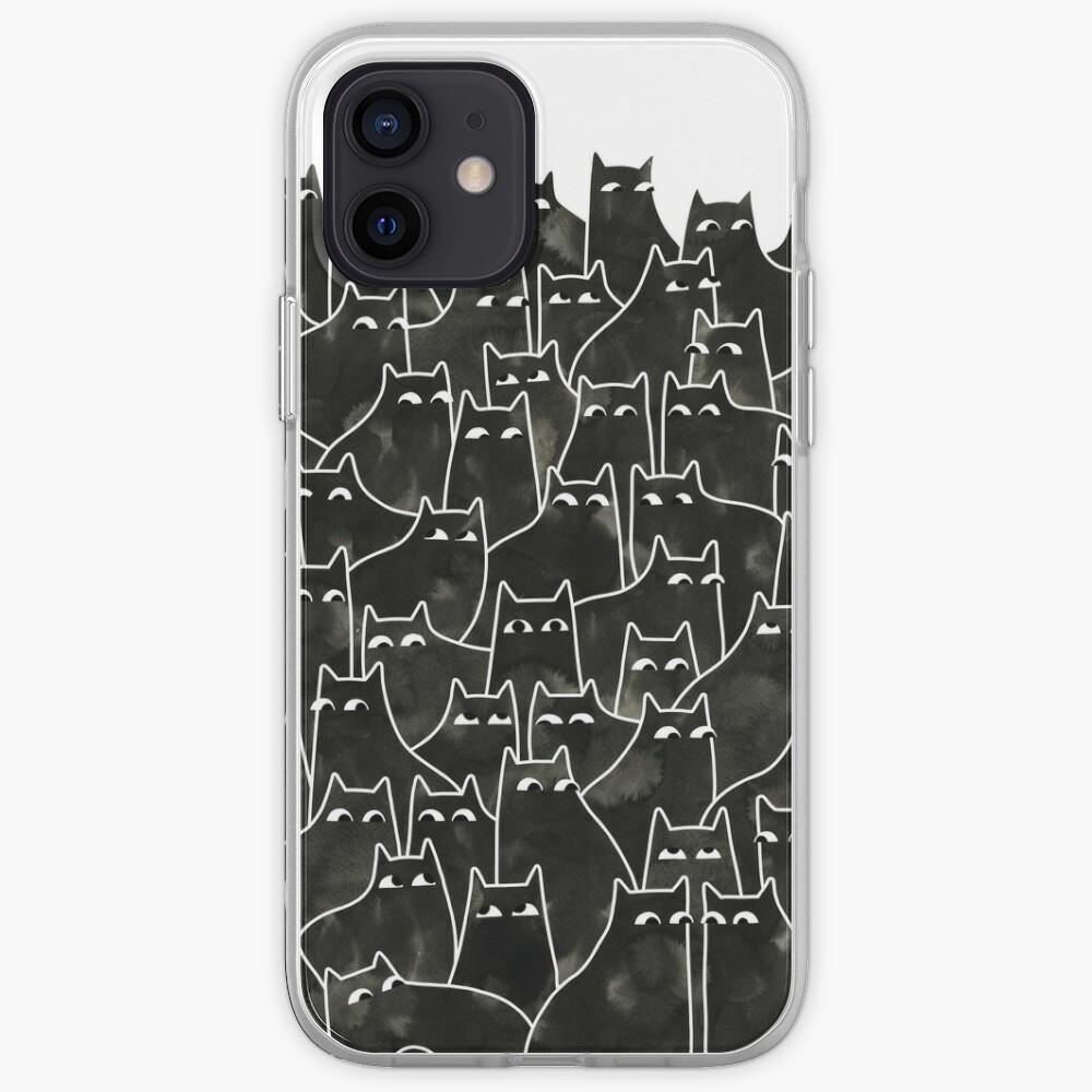 Suspicious Cats iPhone Case & Cover