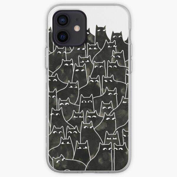 Suspicious Cats iPhone Soft Case
