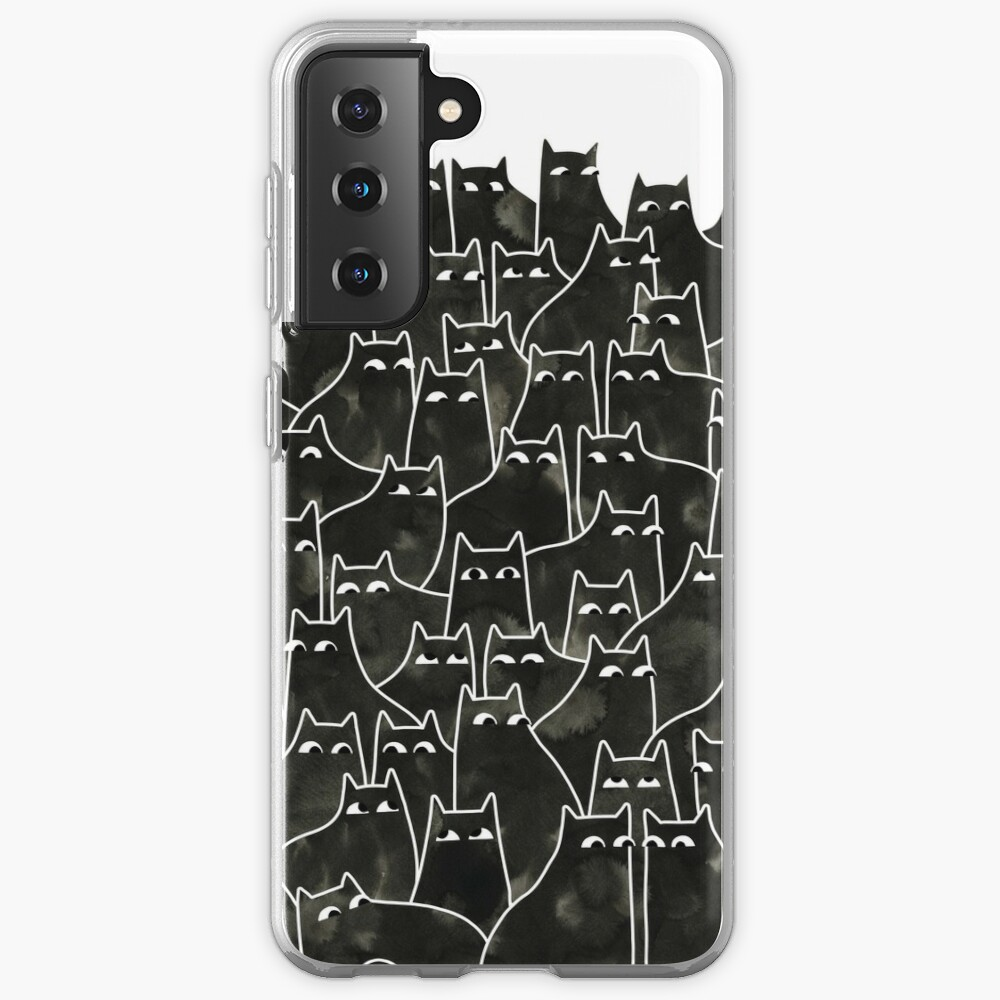 Suspicious Cats Case & Skin for Samsung Galaxy
