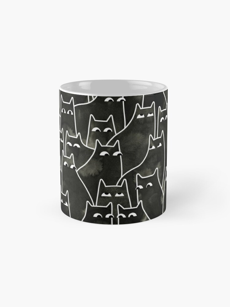 Alternate view of Suspicious Cats Mug