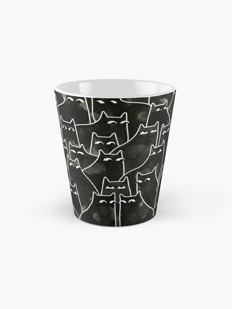 Alternate view of Suspicious Cats Mug