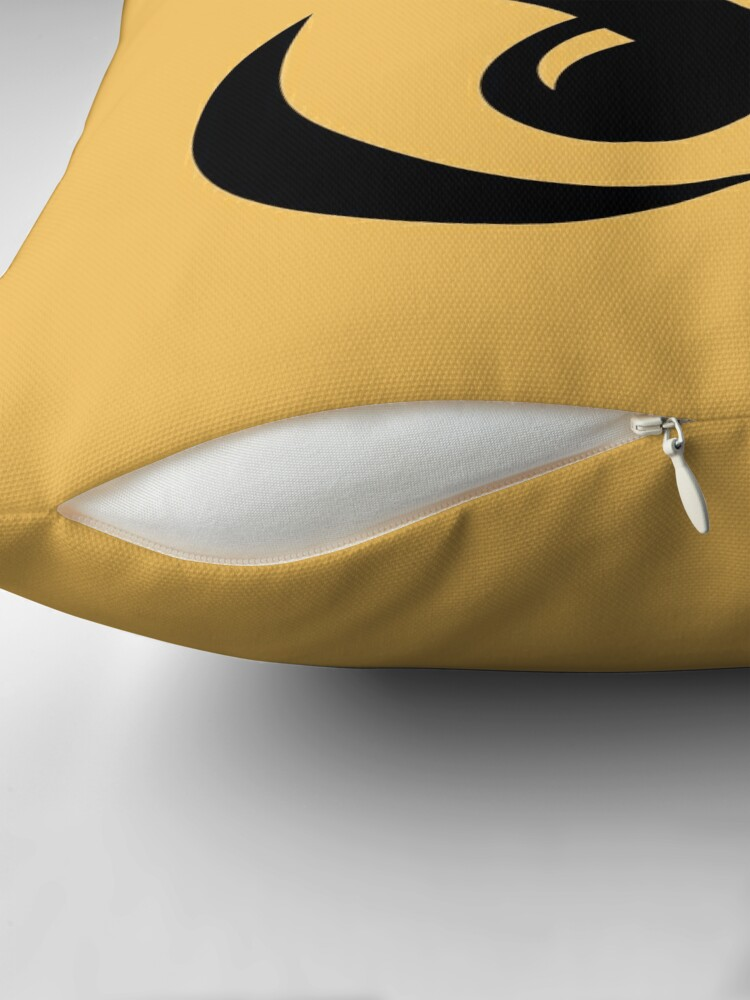 Alternate view of Hook & Eye Throw Pillow/Tote in Sunstare Throw Pillow