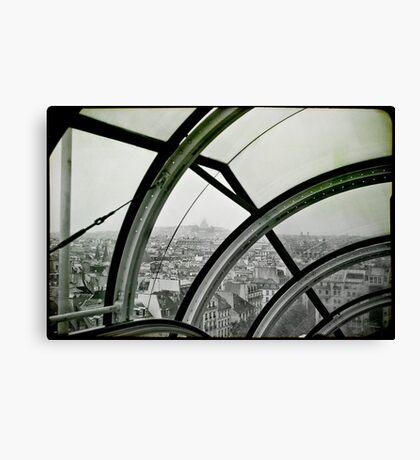Centre Georges Pompidou Canvas Print