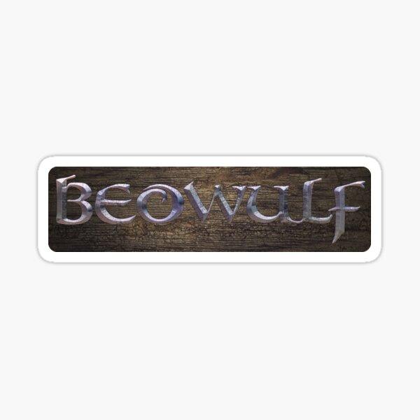 Beowulf Logo Sticker