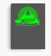Welcome to Megaton Canvas Print