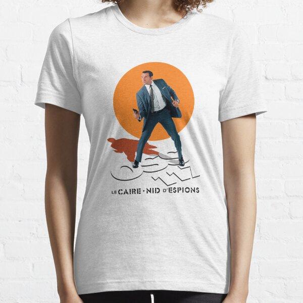 Tournage d'OSS 117 T-shirt essentiel