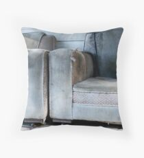 two old chairs Throw Pillow