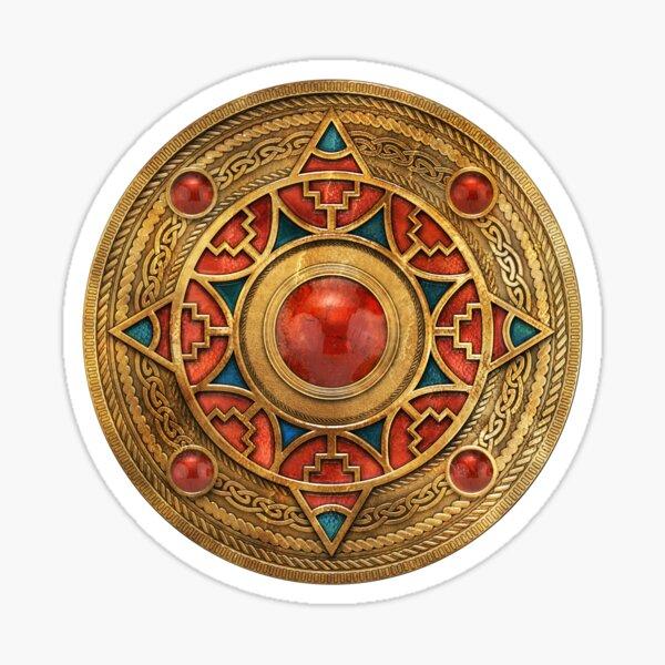 Beowulf Garnet Design Sticker