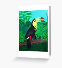 Keel Billed Toucan Greeting Card