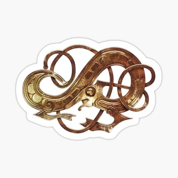 Beowulf Dragon Design Sticker