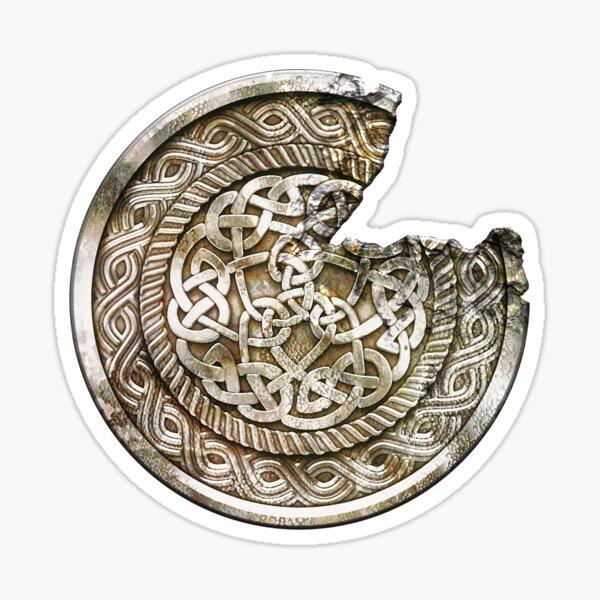 Beowulf Broken Icon Sticker