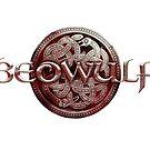 Beowulf Blood Red Logo by Handiwork-Games