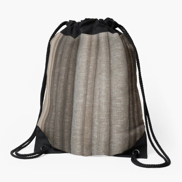 #GunnySack, #Roughlinen, #Burlap, #Sackcloth, Sacking, Bagging, холст, scrim, cloth, crash, власяница, hairshirt, haircloth, мешковина Drawstring Bag