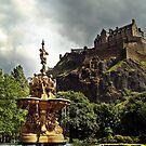 The Ross Fountain In Edinburgh, Scotland. by Aj Finan