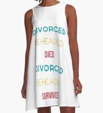 Henry VIII Wives A-Line Dress