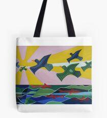 Dangerous Waters II Tote Bag