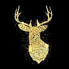«Glitter Gold Deer» de DuxDesign