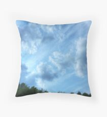Heavenly (version I) Throw Pillow